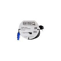 BriteQ POWER CABLE CEE7/7-PowerCON 2M